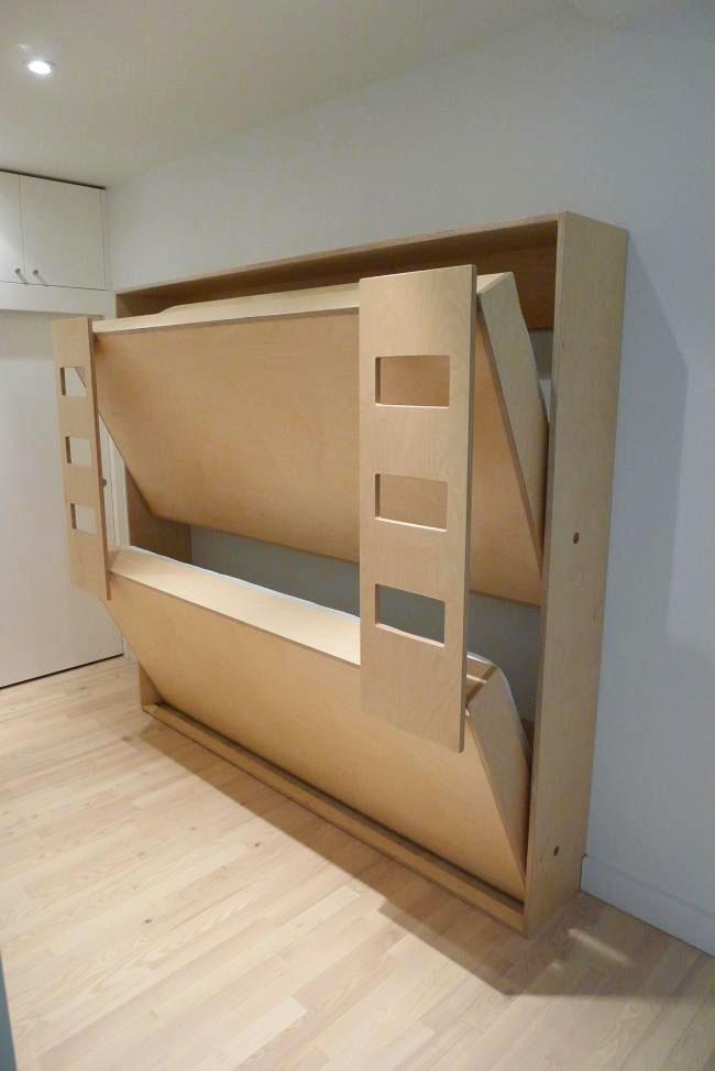 Cool Murphy Bunk Beds | iDesignArch | Interior Design ...