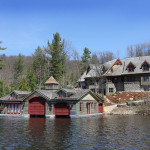 Muskoka Lakeside Country Estate With Boathouse