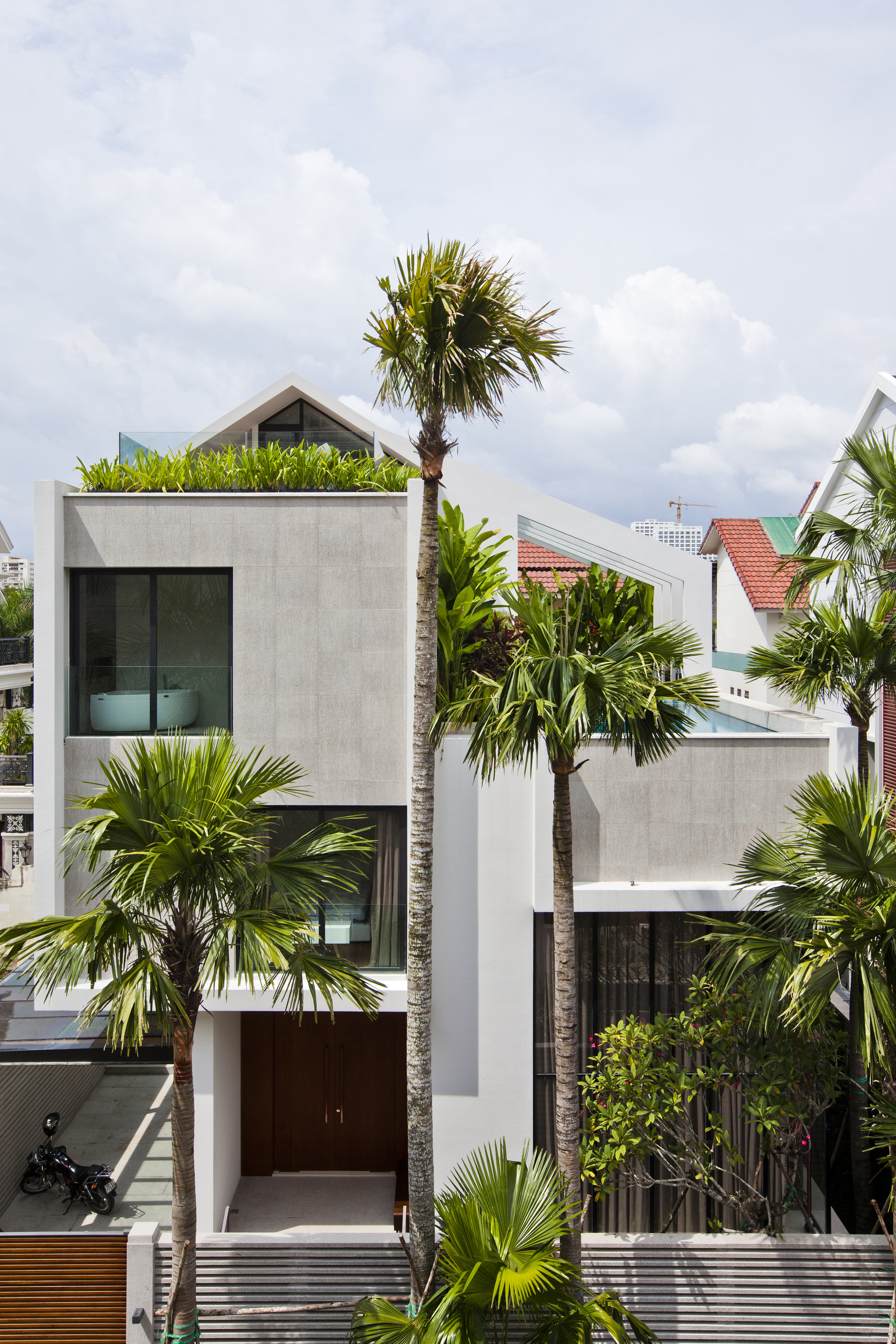 modern house ho chi minh city vietnam - Architect For Home Design