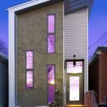 Narrow Modern Infill Tiny House