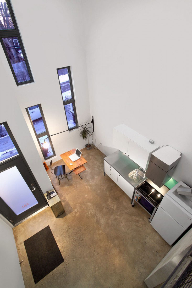 Narrow modern infill tiny house idesignarch interior for Tiny modern apartment