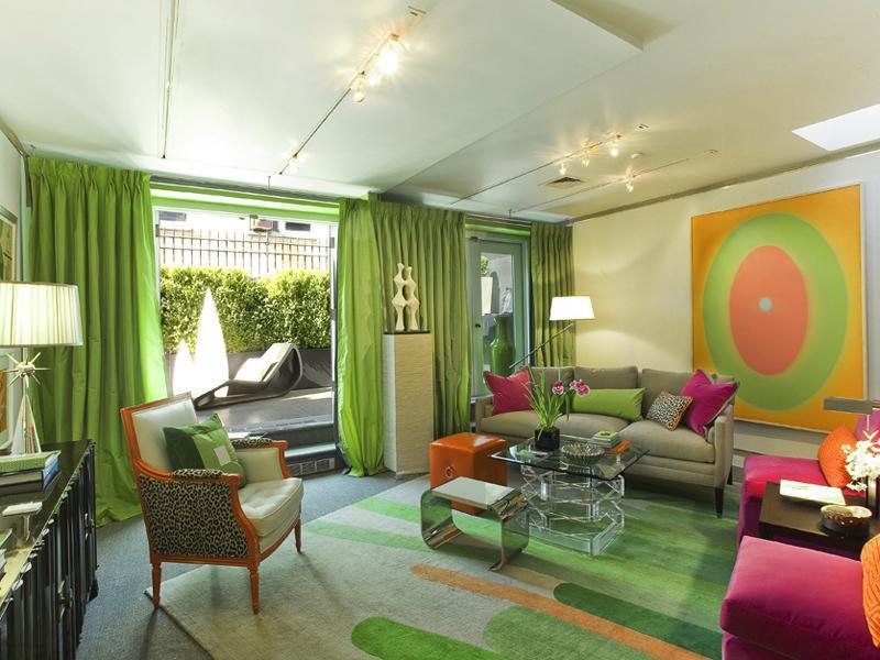 Wohnzimmer Einrichten Braun Grün | rheumri.com