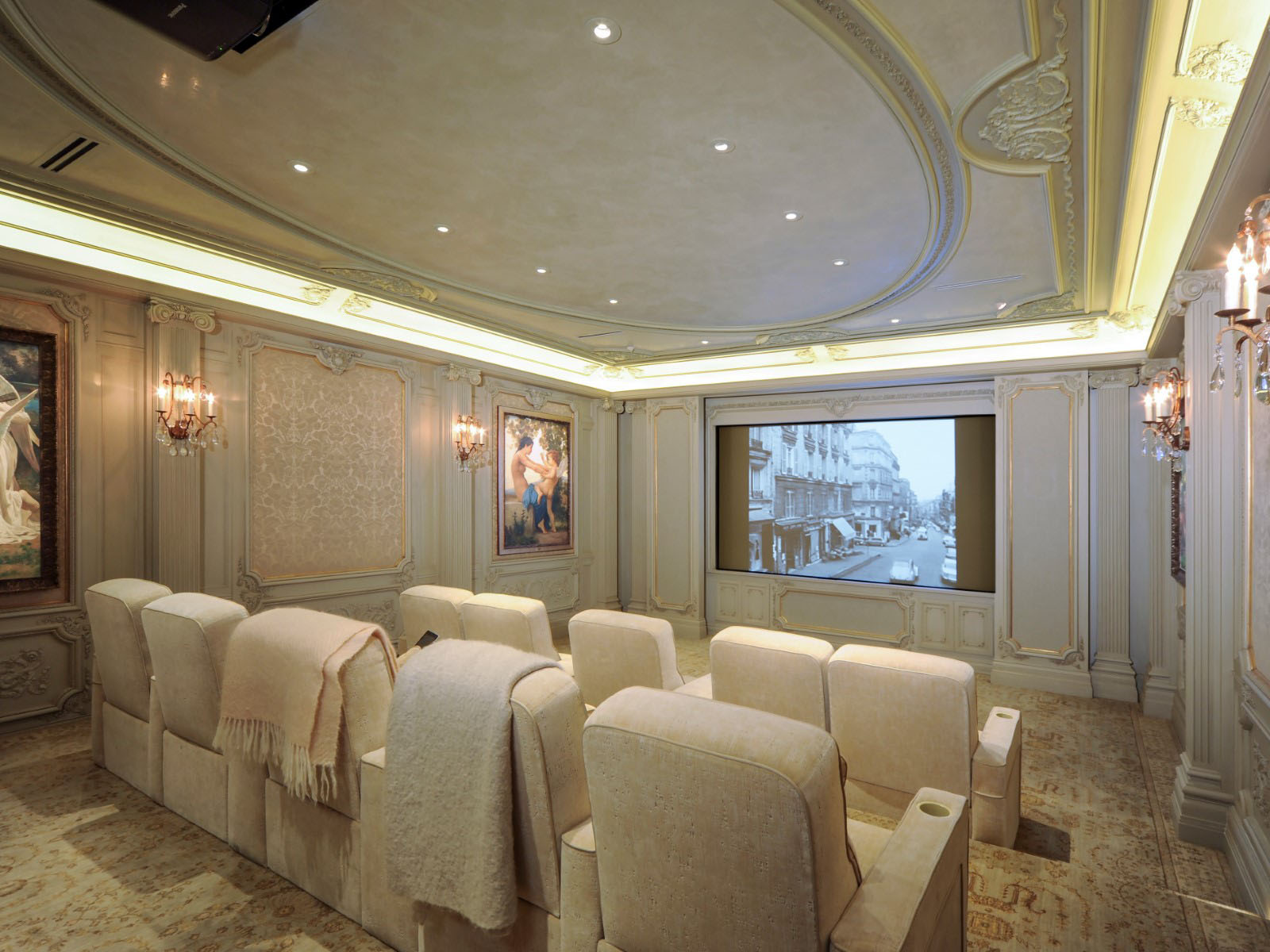 Luxury Home Theater