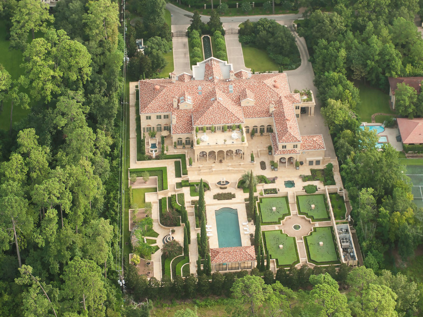Chateau Style Mansion in Texas