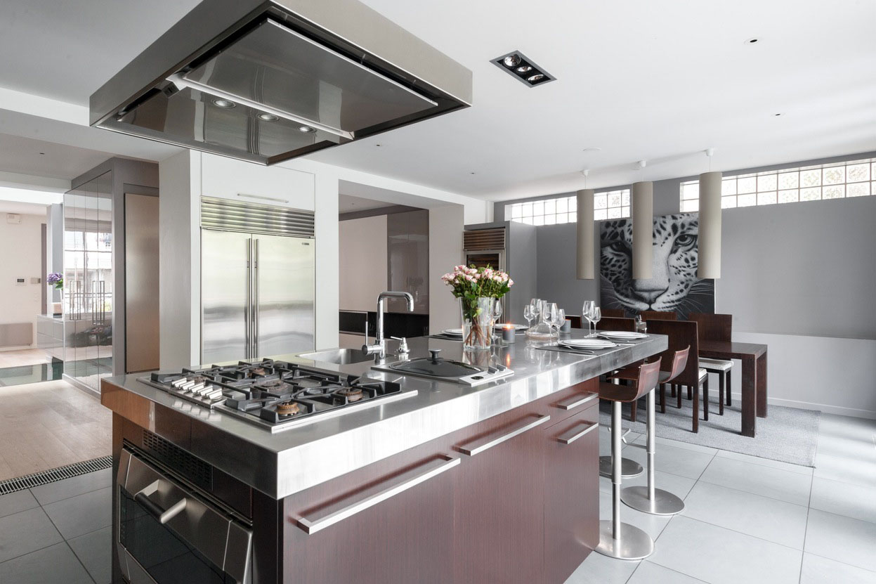 Neuilly-sur-Seine-Luxury-Townhouse_6  iDesignArch  Interior Design ...
