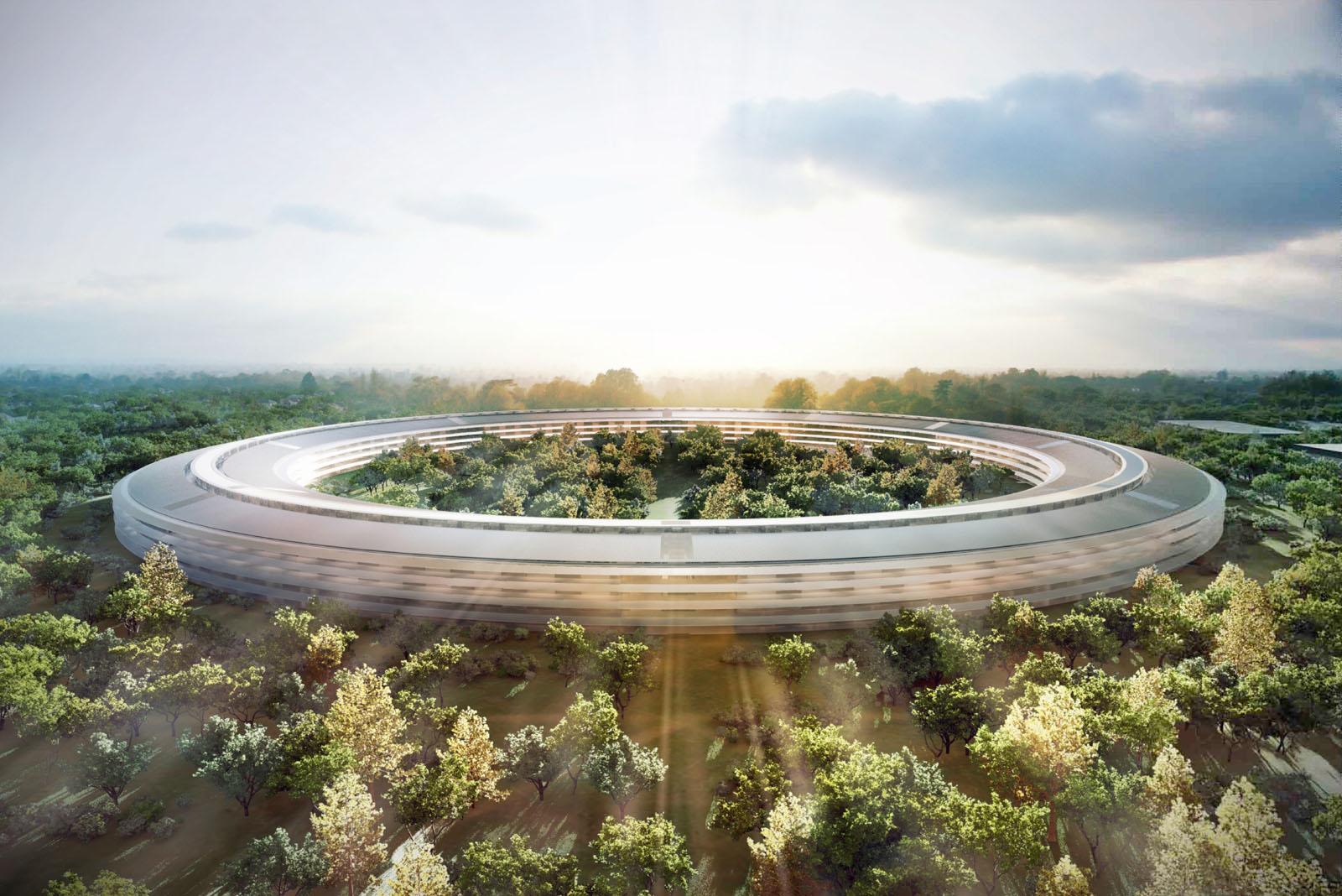 New Apple Campus Renderings 1 Apple releases brochures to neighbors, discussing new campus