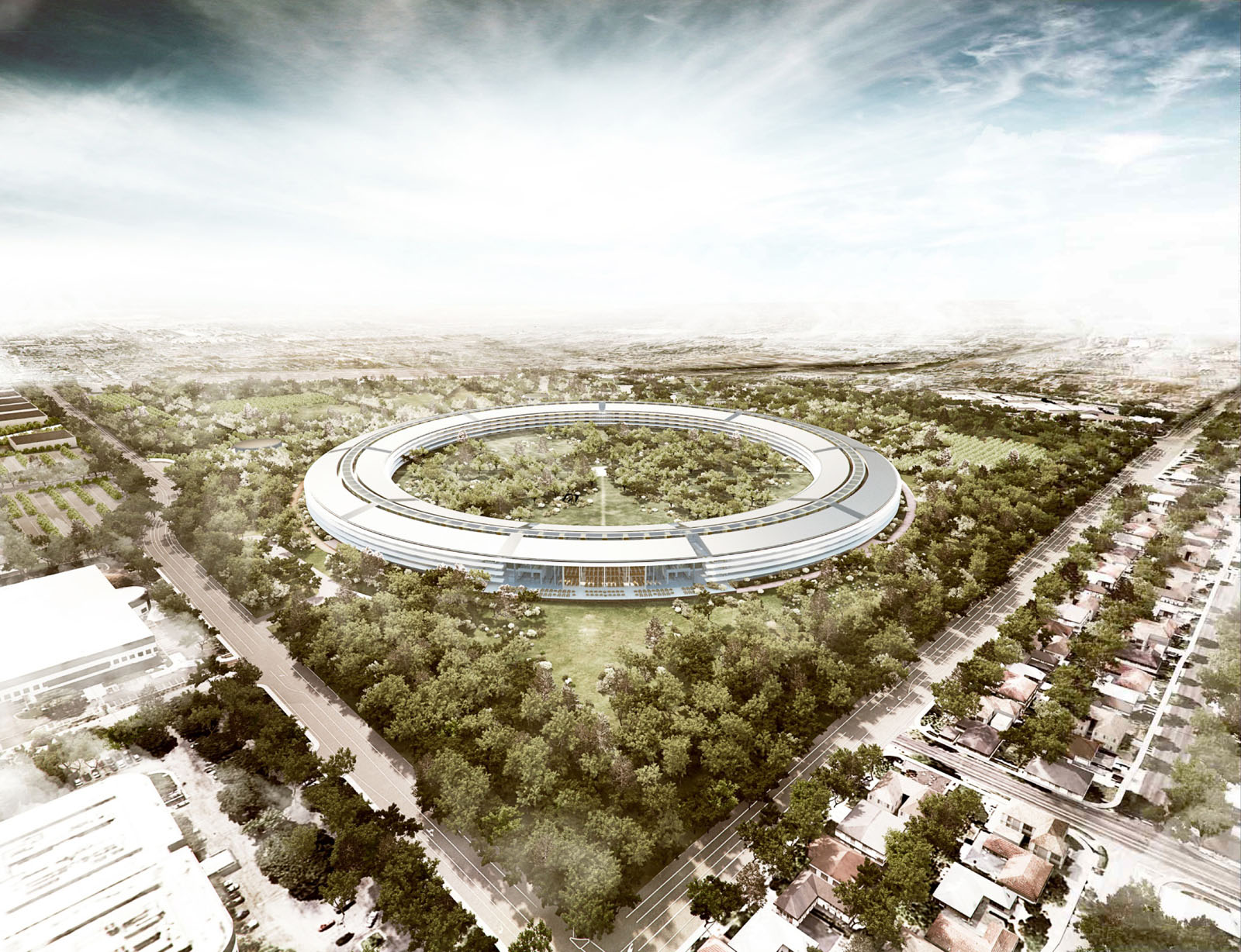 Foster Partners To Design New Apple Campus In Cupertino