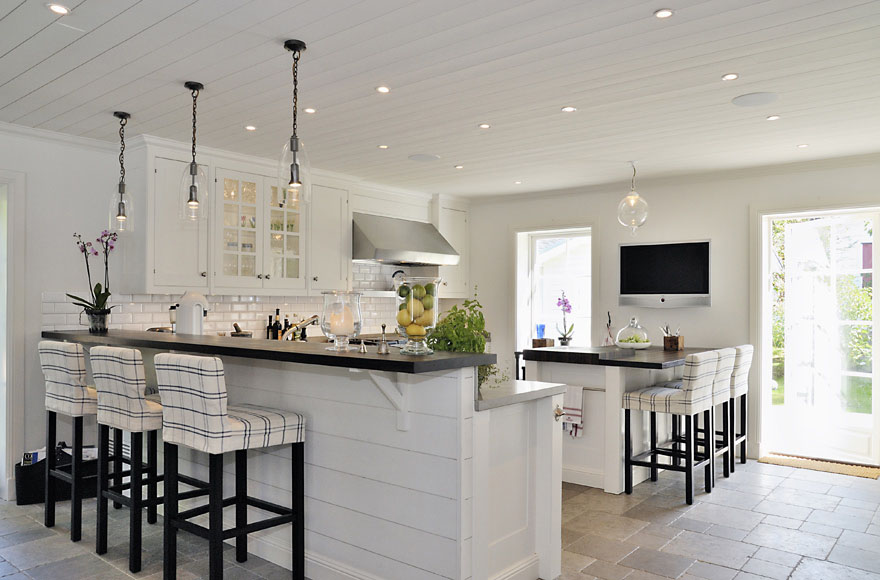 New England Style Dream Villa In Sweden | iDesignArch | Interior ...