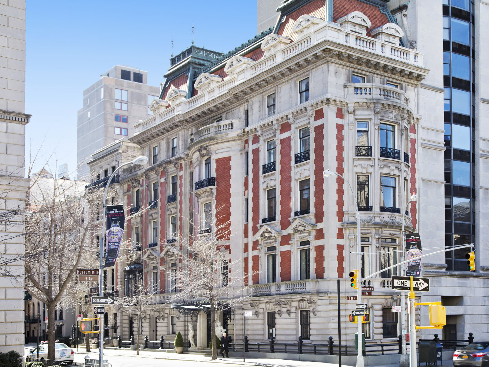 Beaux arts style new york grand mansion on fifth avenue for Manhattan mansions for sale