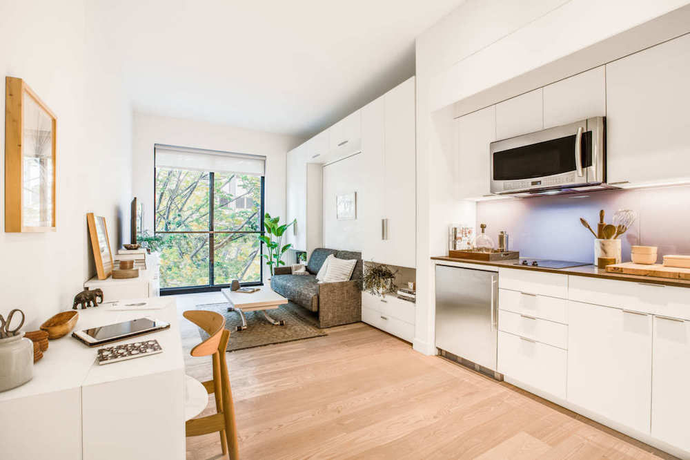 Prefab new york micro unit apartment building offers for New apartment design