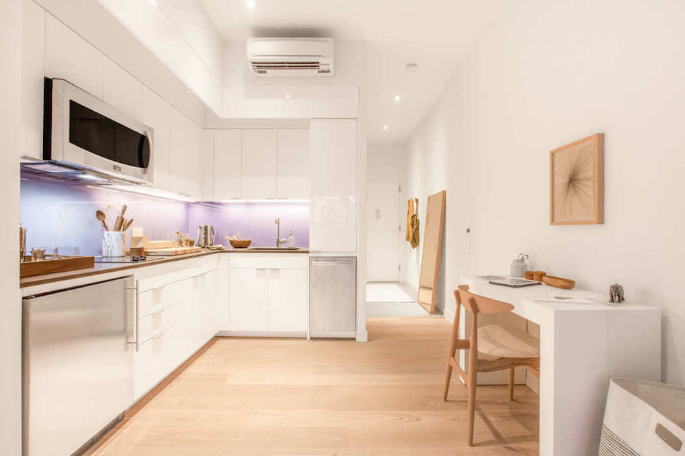 Prefab new york micro unit apartment building offers for New york kitchen units