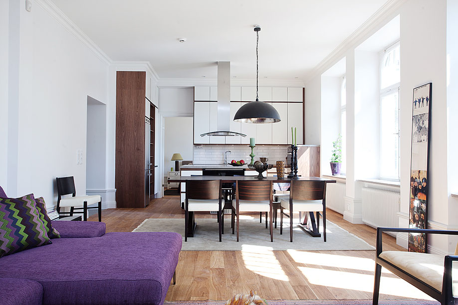 Stylish small studio apartment in stockholm idesignarch - Studio apartment decor ...