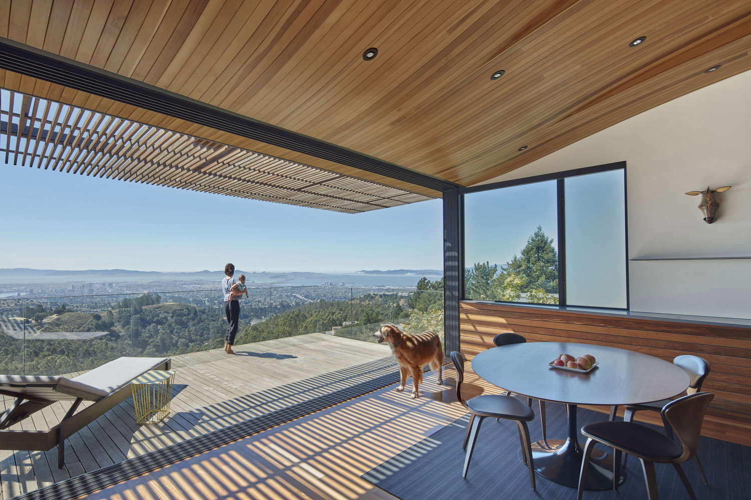 Modern Furniture East Bay stunning mountain top house overlooking oakland | idesignarch