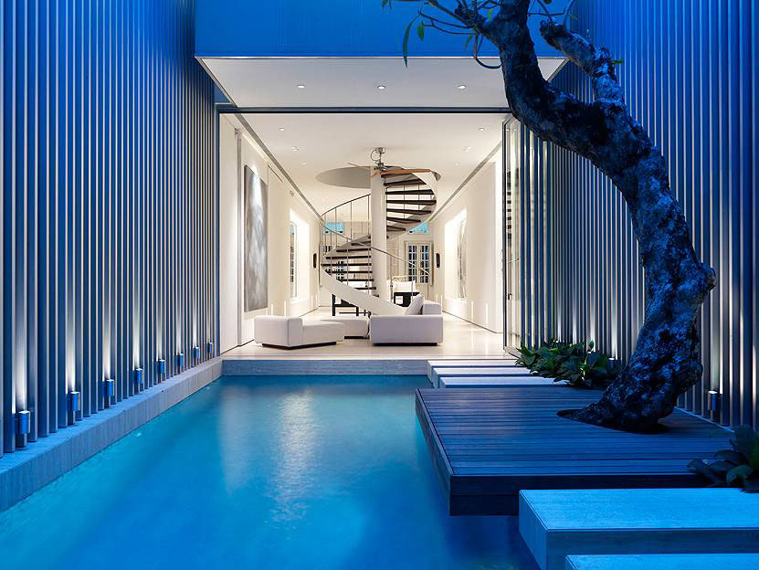 Open Plan Contemporary House In Singapore
