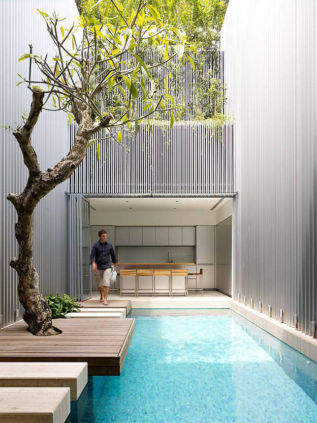 open plan contemporary house in singapore idesignarch
