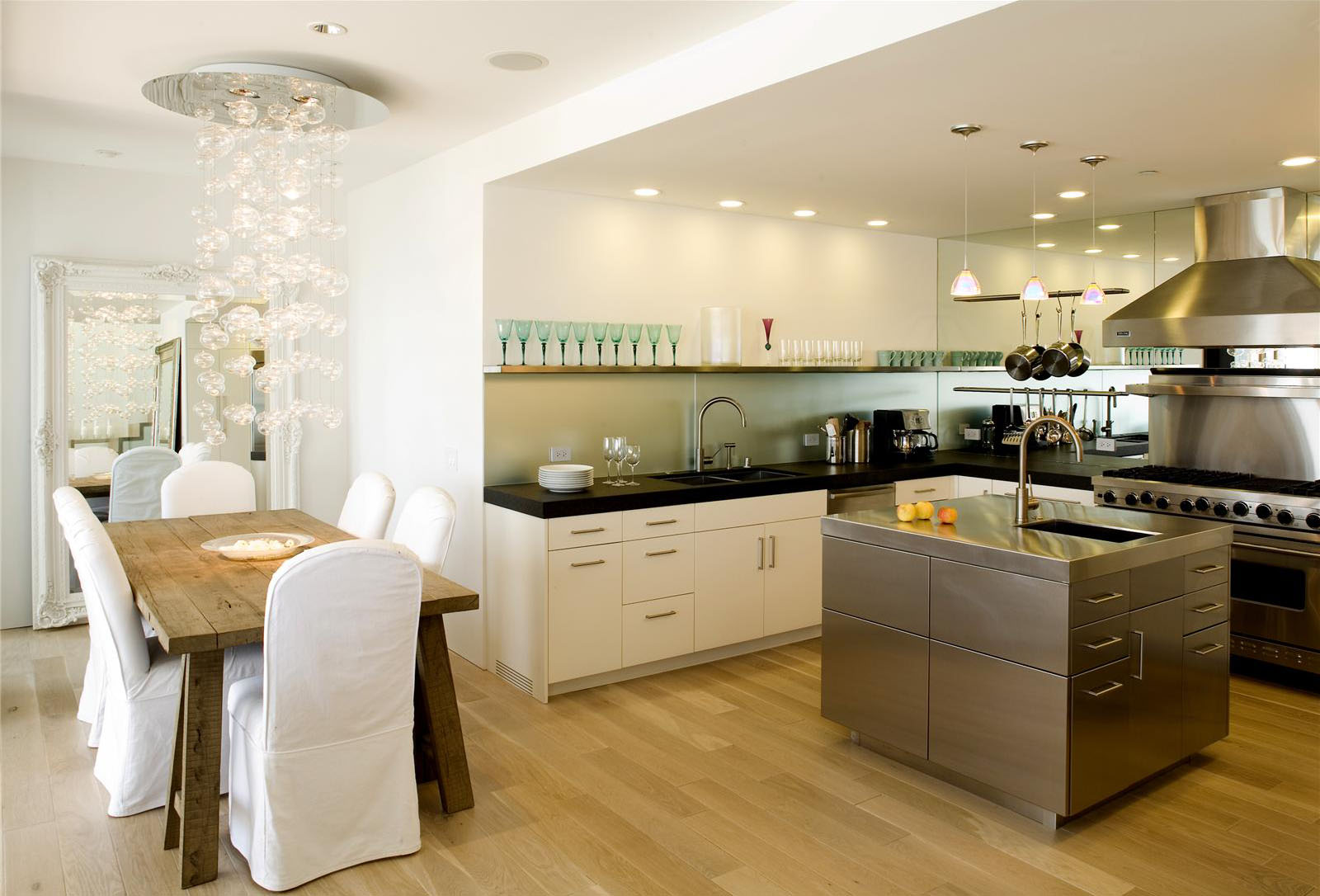 Open contemporary kitchen design ideas idesignarch for Modern kitchen designs gallery