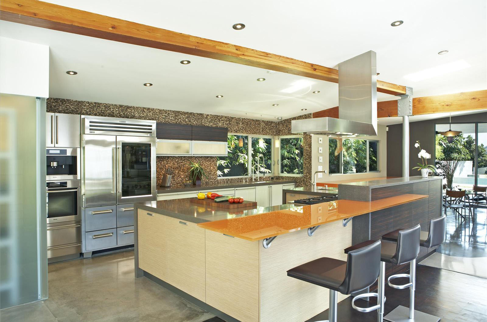 Open Contemporary Kitchen Design Ideas Idesignarch Interior Design Architecture Interior