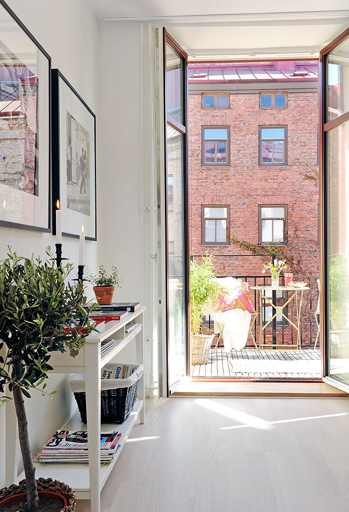 Open Plan Apartment Design In Gothenburg | iDesignArch | Interior ...