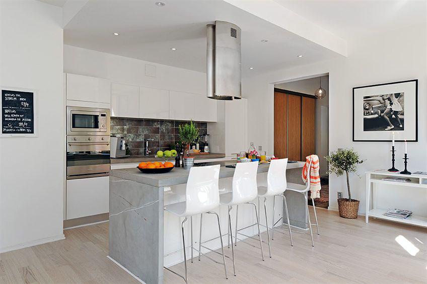 Open Plan Apartment Design In Gothenburg Idesignarch