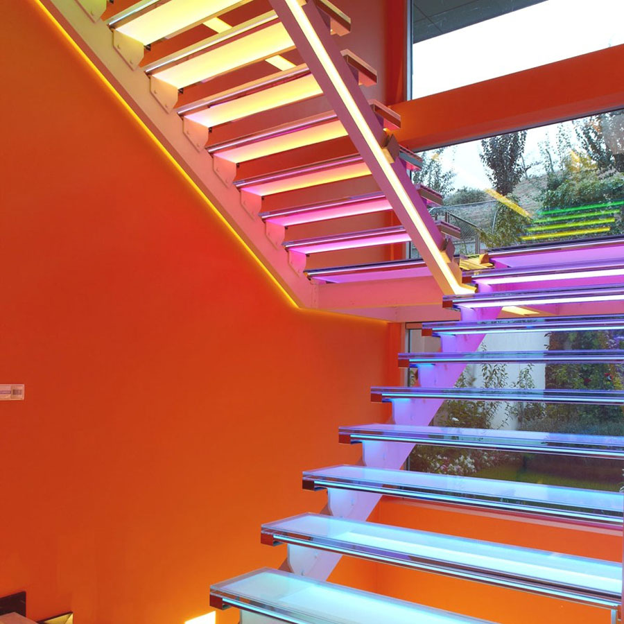 Modern Orange House In Turkey Idesignarch Interior