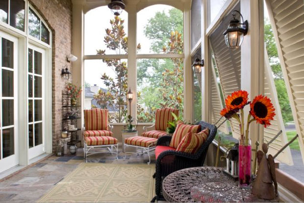 Screened Porches Bring The Outdoors Indoors IDesignArch Interior
