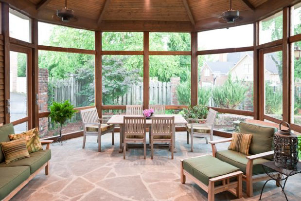 Screened porches bring the outdoors indoors idesignarch for Screened in porch ideas design