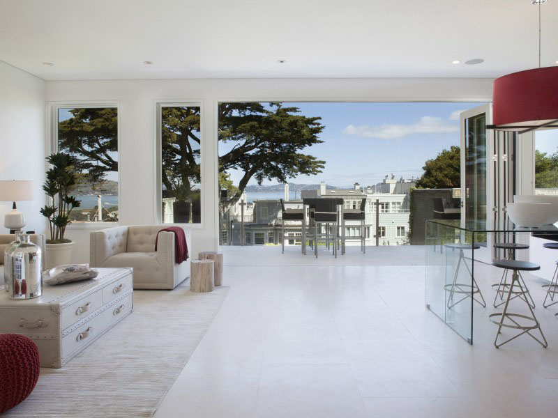 Pacific Heights Home with views of San Francisco Bay