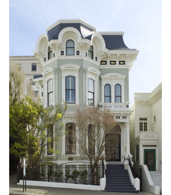 Stunning victorian house in san francisco idesignarch for Houses in san francisco