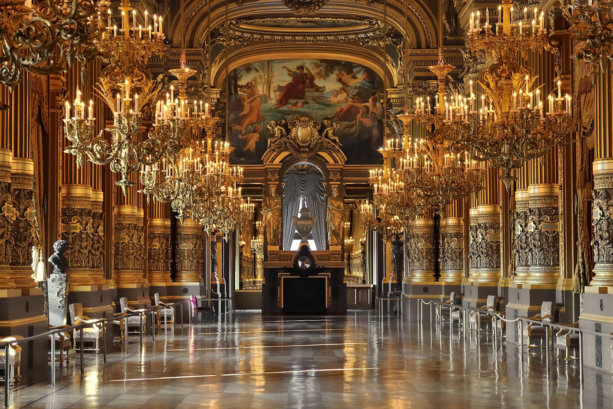 Opera Garnier Grand Foyer