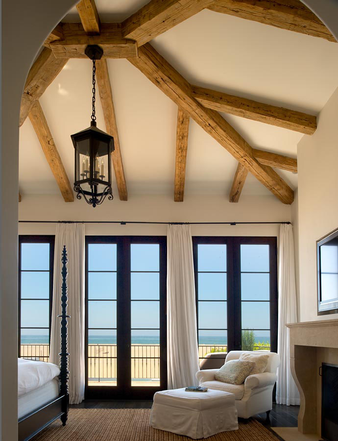Spanish colonial beach house in santa monica idesignarch for Colonial window designs