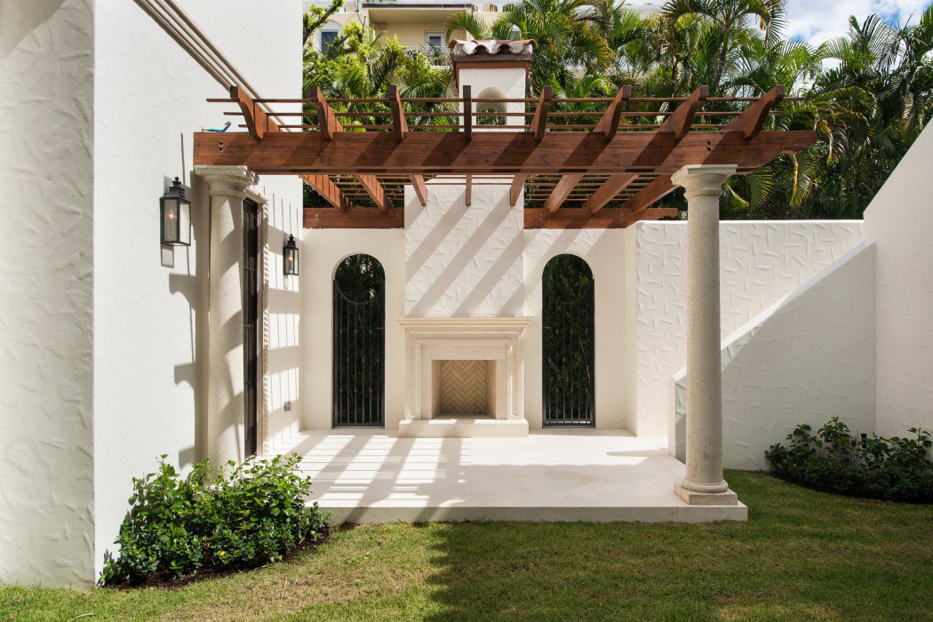 New Mediterranean Style Home In Palm Beach Idesignarch
