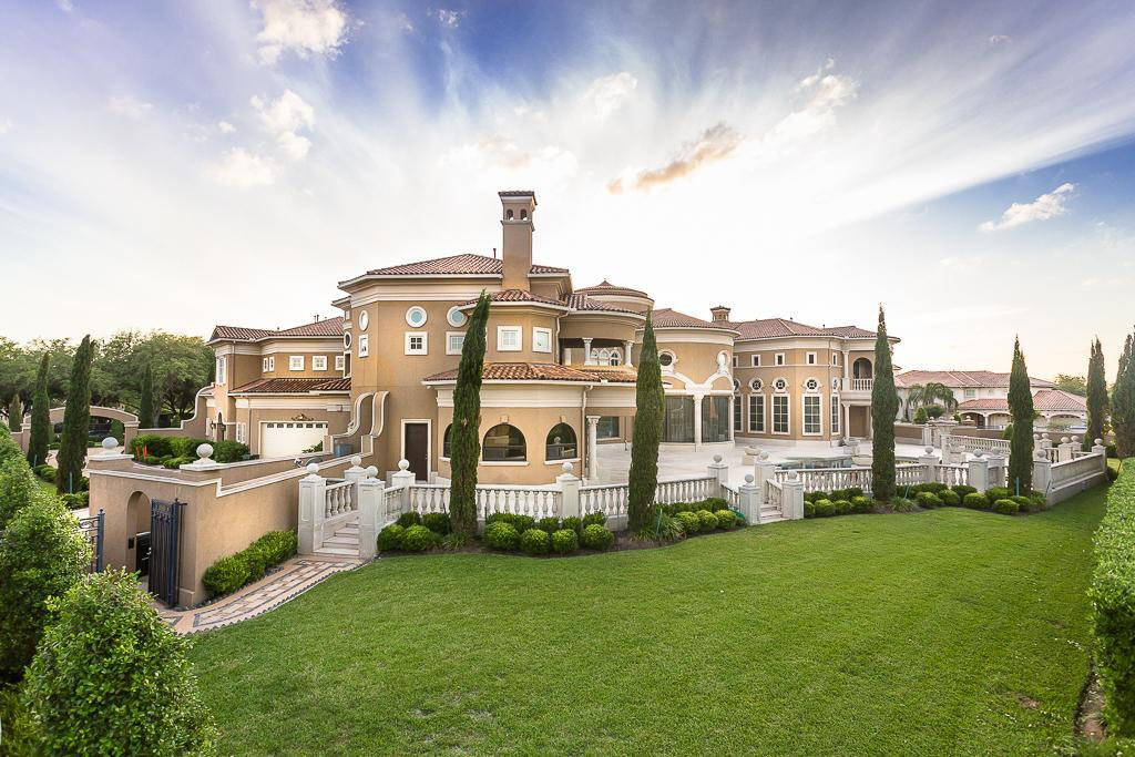 Venetian Style Homes a majestic venetian style mansion in texas | idesignarch