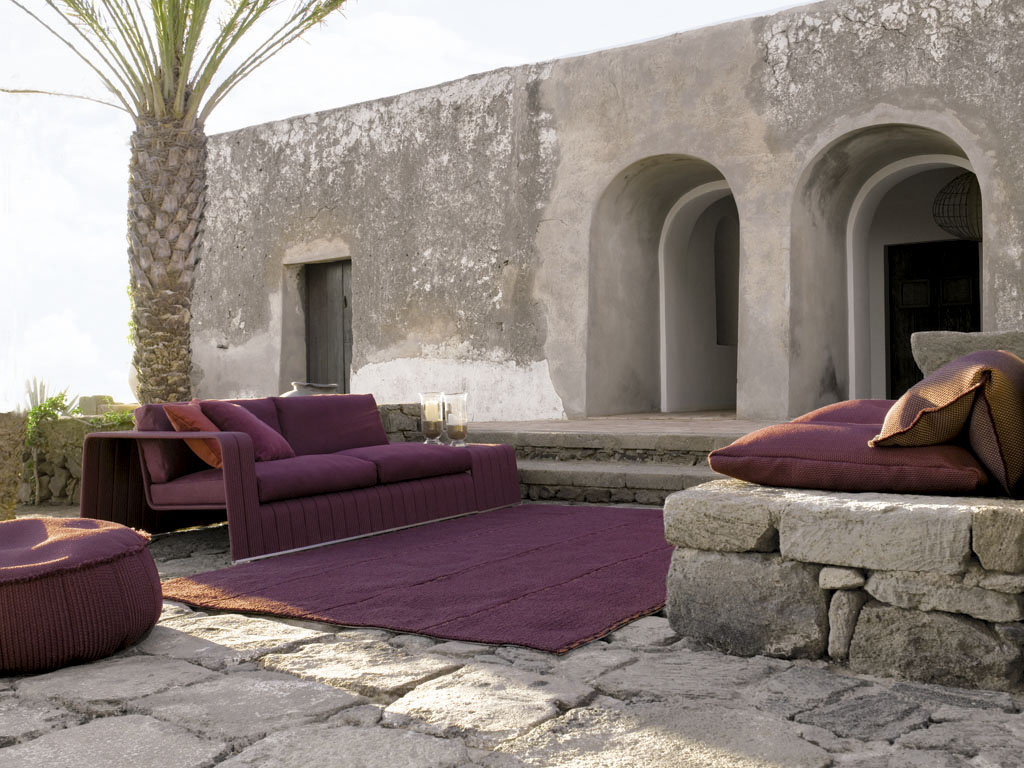 Modern Furniture With A Touch Purple By Paola Lenti iDesignArch