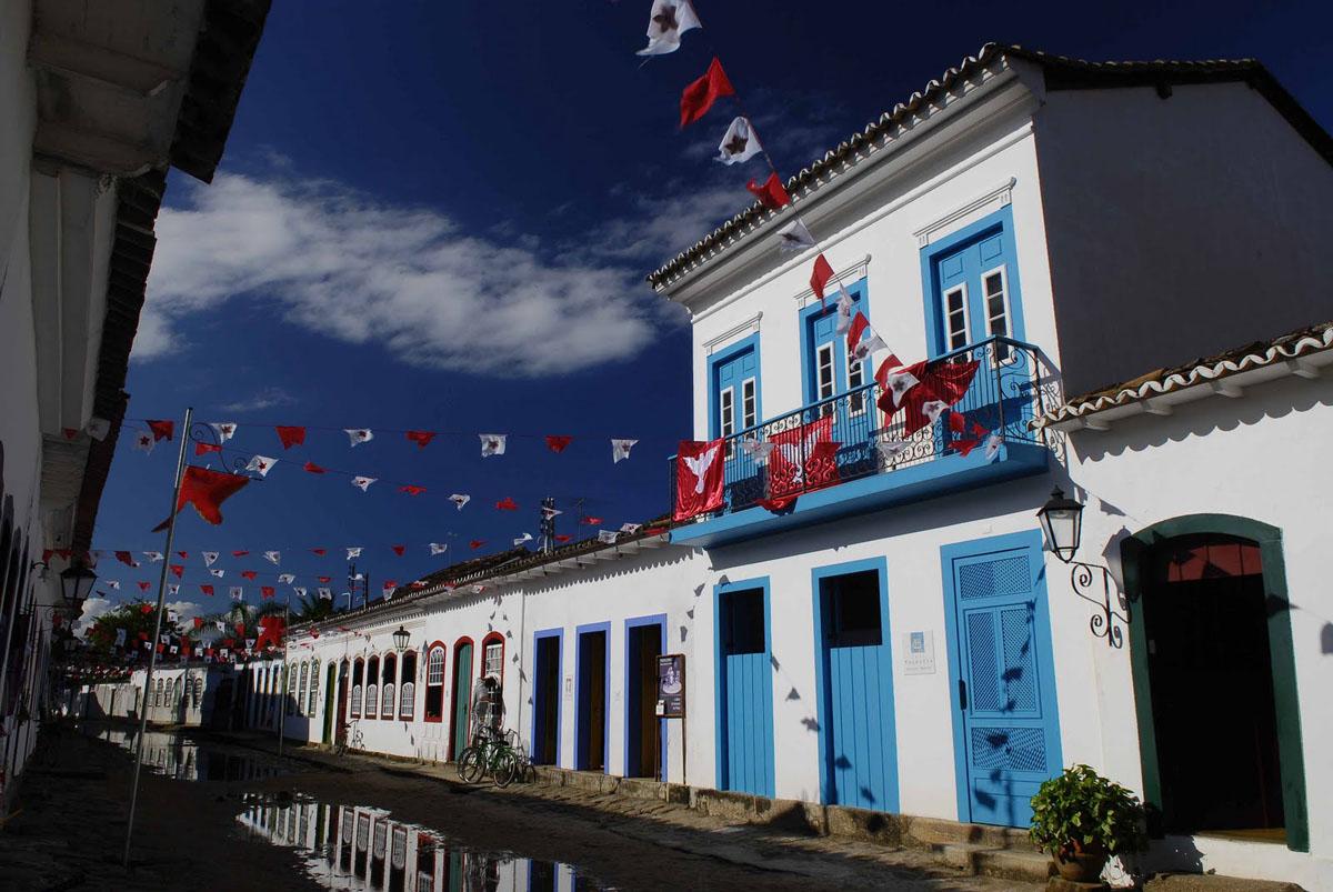 Casa Turquesa Charming Hotel In Paraty Brazil