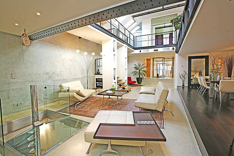 Luxury designer loft apartment in paris idesignarch interior design architecture interior for All paris apartments
