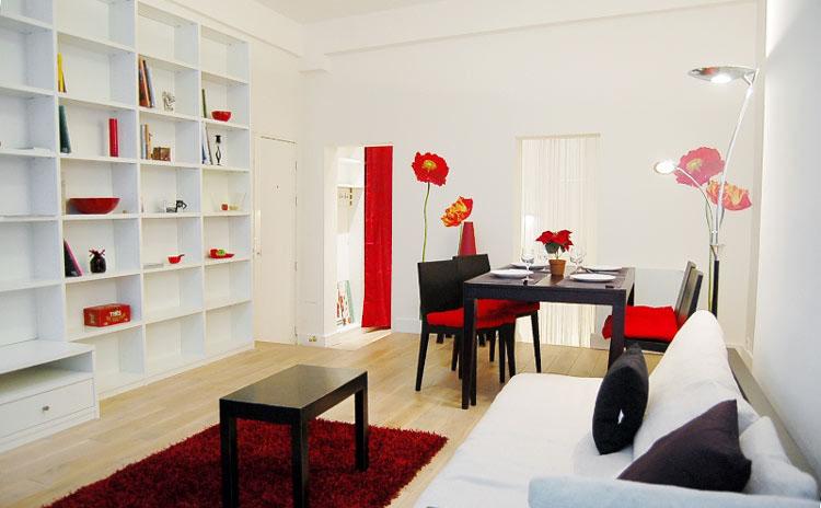 modern paris apartment in old marais | idesignarch | interior