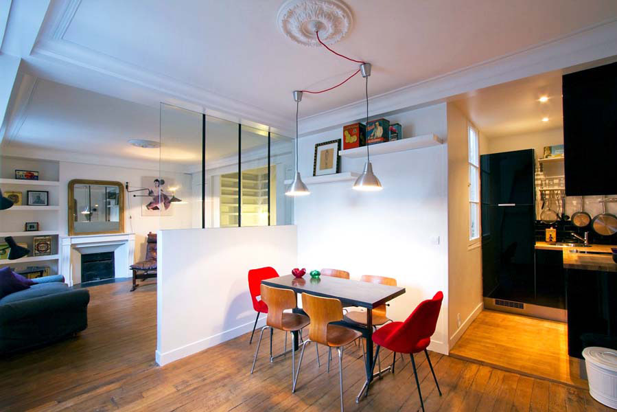 Exceptionnel Classic Contemporary Studio Apartment