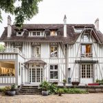 Contemporary Renovation of a 19th Century French Half-Timbered House
