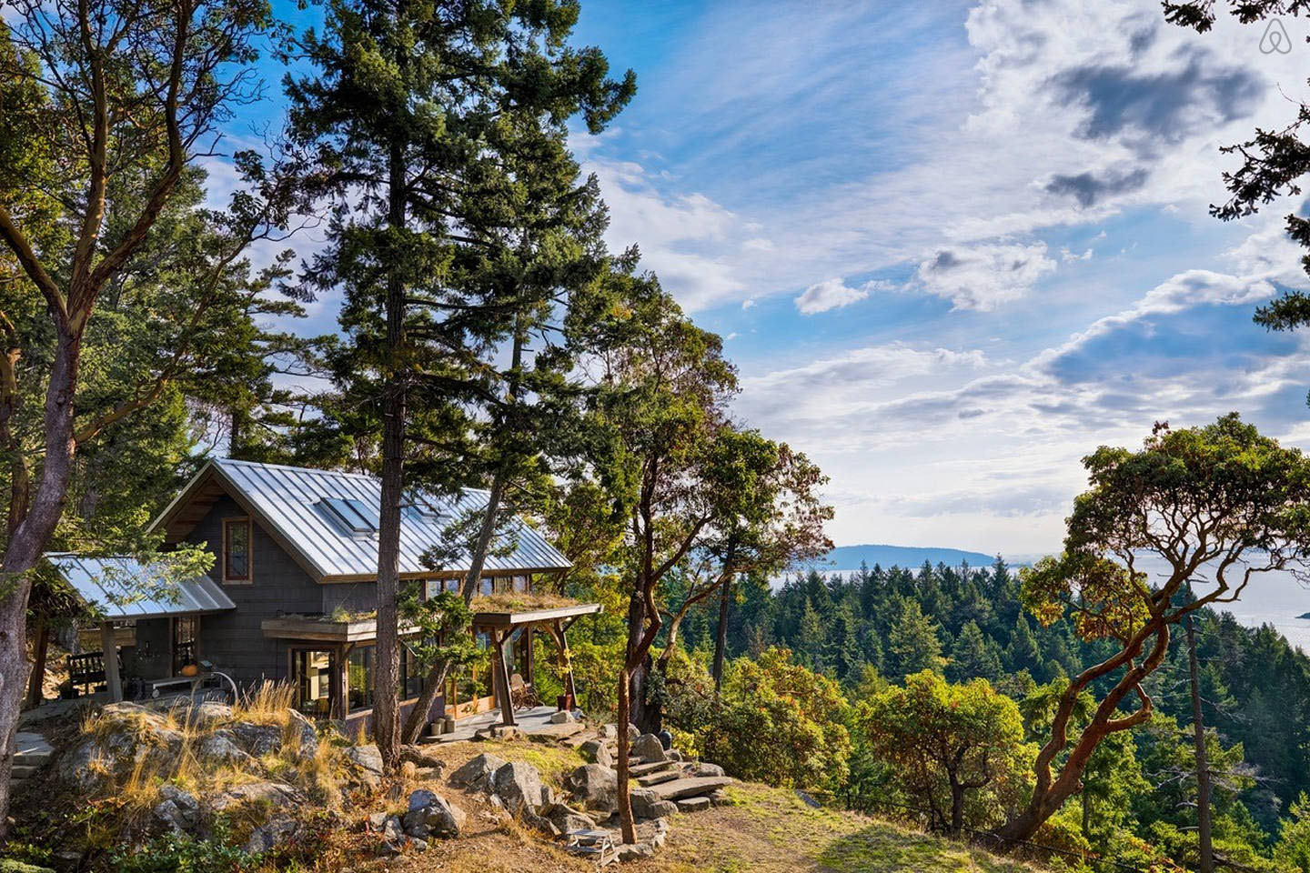 Pender Island Country Cabin