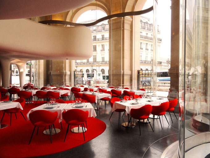 Phantom l opéra restaurant paris idesignarch interior
