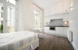 Pimlico bedsit apartments 8 idesignarch interior for Bedsitter interior design
