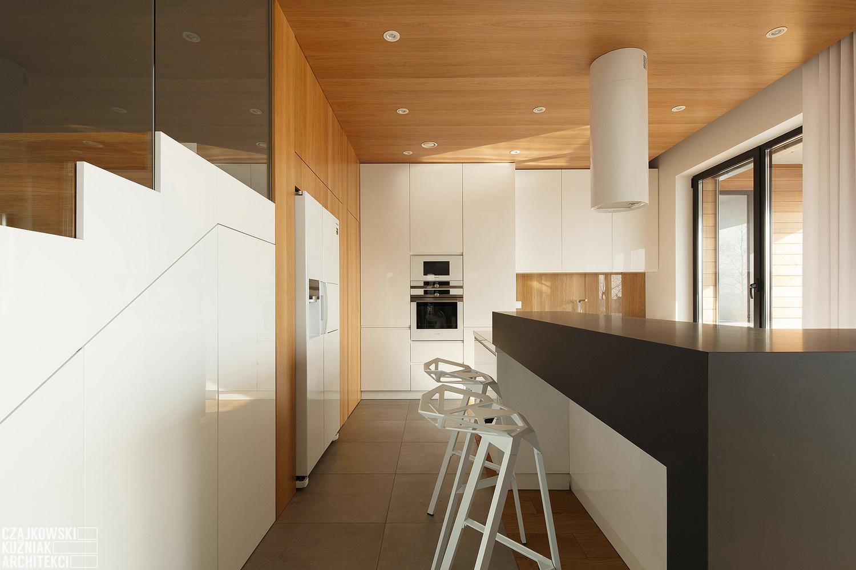 Poland Modern Home Interior Black White Light Wood Color