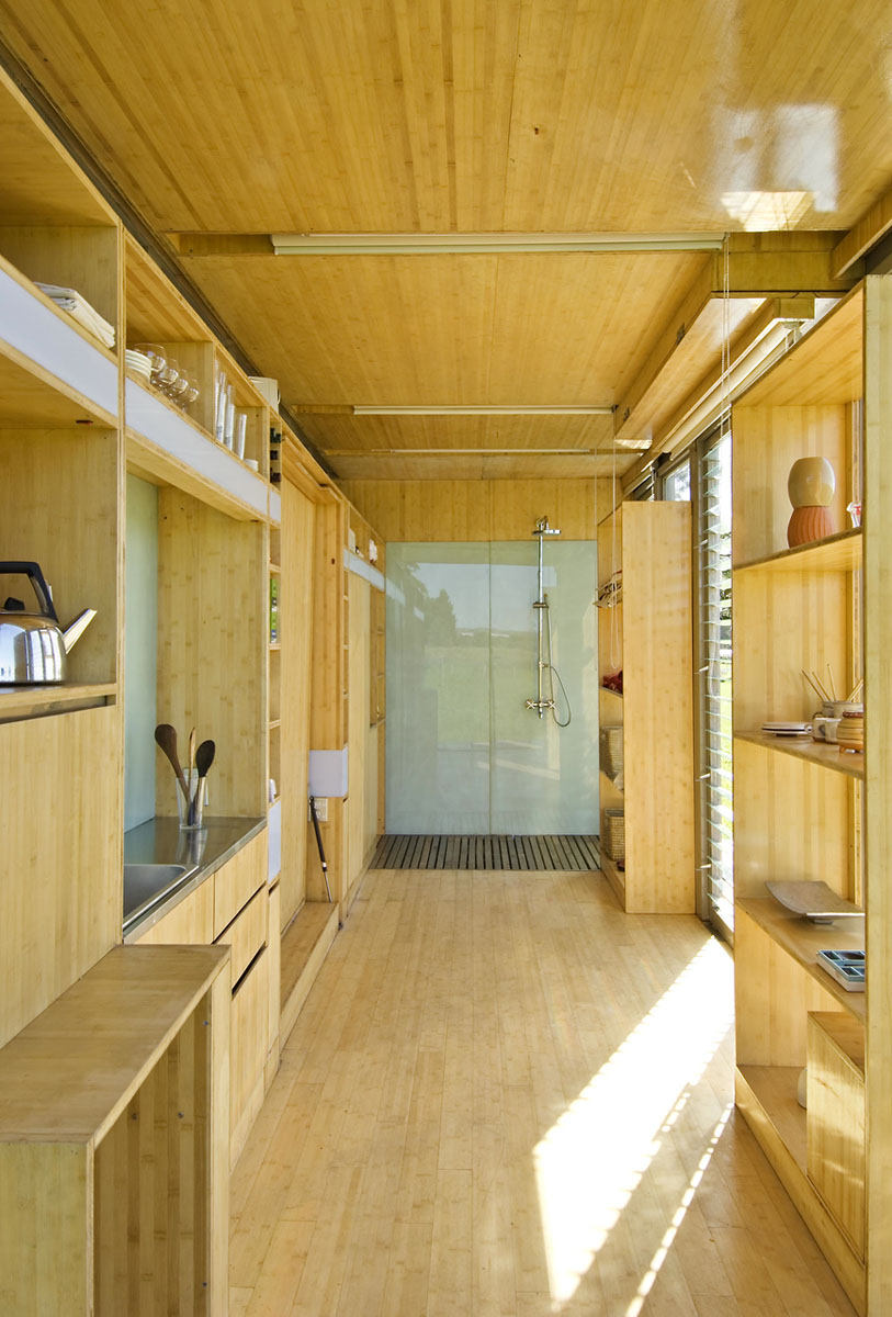 Port-A-Bach Shipping Container Home