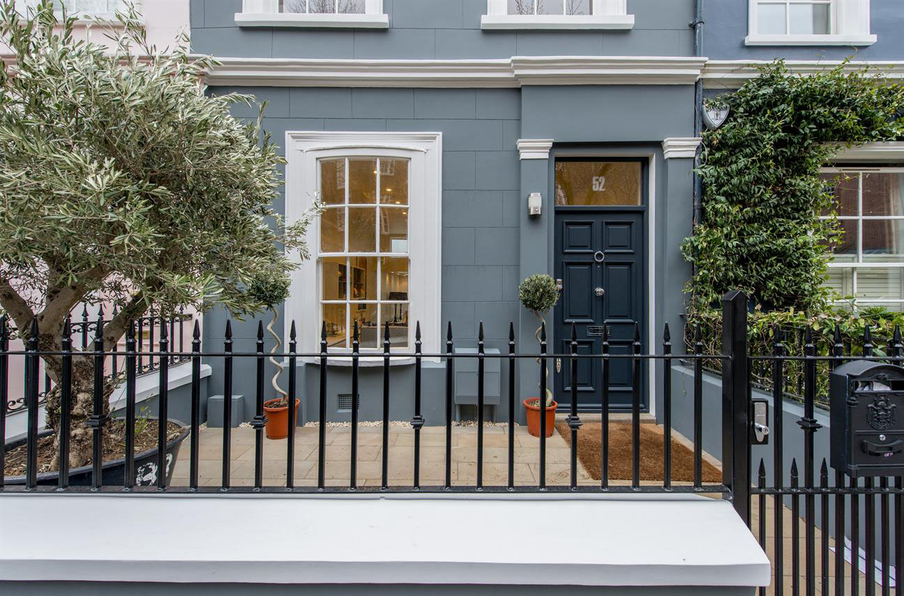 Exquisite house on portobello road in the heart of notting for House notting hill
