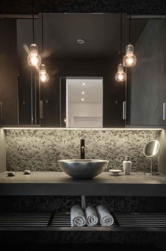 Modern Loft Apartment Bedroom: Modern Attic Loft With Grey Palette In Prague