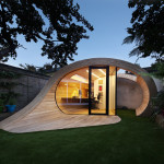 Prefab Garden Pavilion With Shed And Office Space