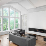Impressive Home Expansion Offers Huge Living Room Window And Modern Interiors