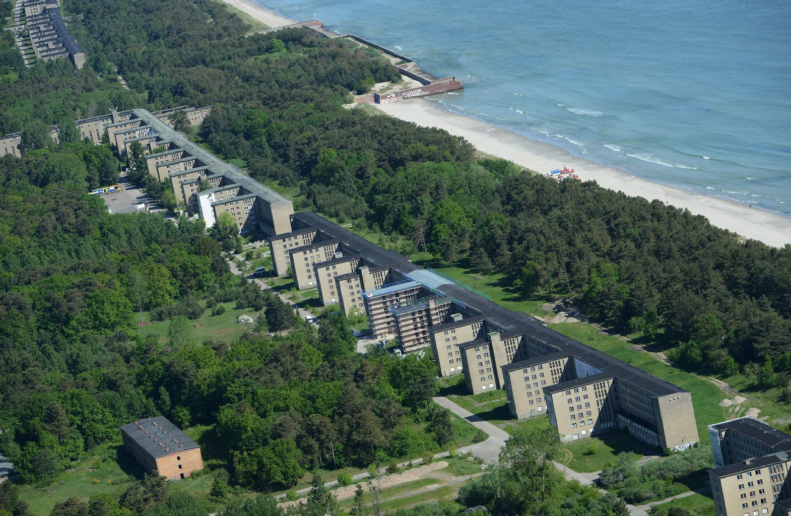 Hitler's Abandoned Failed Nazi Dream Resort