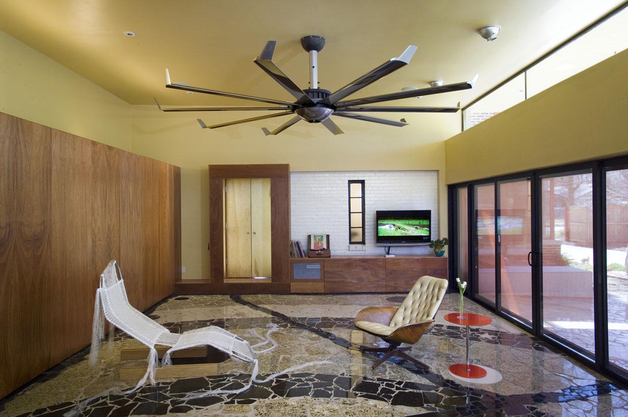 Psychedelic House In Oklahoma City iDesignArch Interior Design