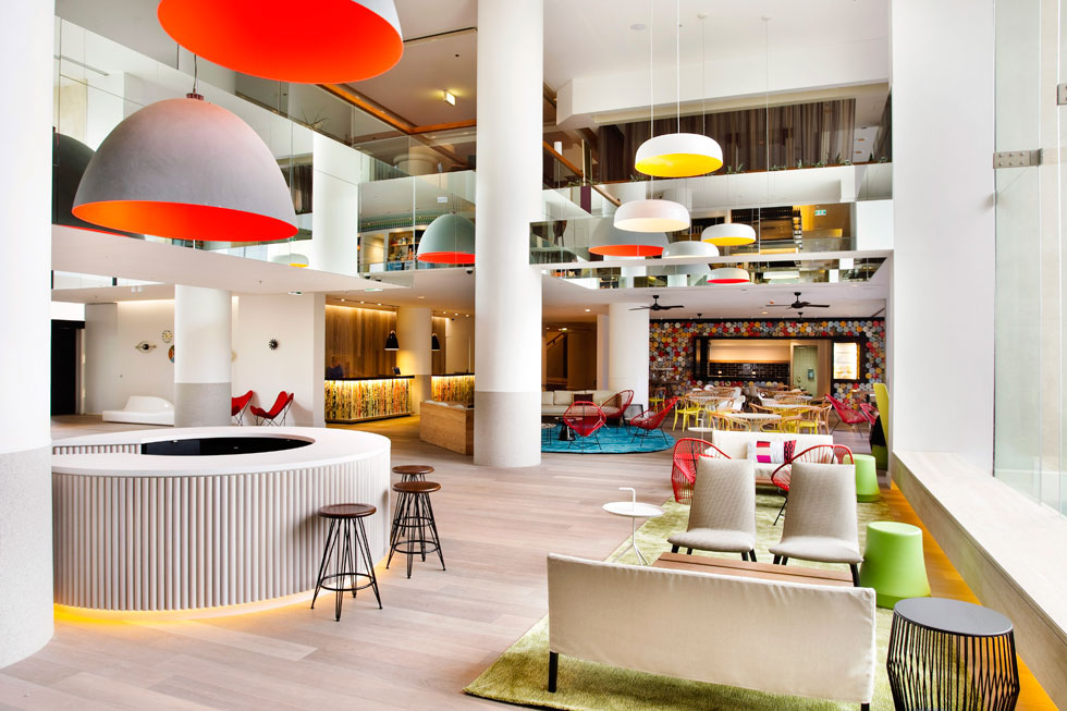 QT Gold Coast Hotel - Cool Surfer Chic In Australia | iDesignArch